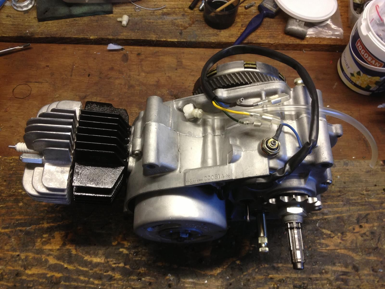 Yamaha SS50 - 1973 - Restored Engine, New Seals, Vapour Blasted Cases, Flywheel and Sprocket.