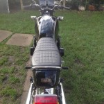 Yamaha XS1100 - 1980 - Seat Unit, Grab Rail, Rear Light and Fender.