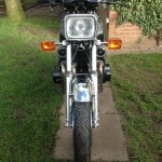 Yamaha XS1100 - 1980 - Front View, Headlight, Indicators and Mudguard.
