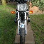 Yamaha XS1100 - 1980 - Front View, Headlight, Indicators and Mudguard.