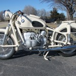 BMW R50 - 1959 - Left Side View, Engine and Gearbox, Frame , Fenders, Forks, Seat and Tank.