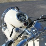 BMW R50 - 1959 - Headlight, Speedo, Damper, Handlebars, Light Switch and Cables.