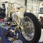 BMW R50 - 1959 - Rear Wheel and Frame During the Restoration.