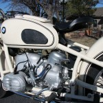 BMW R50 - 1959 - Fuel Tank, BMW Badge, Knee pads and Seat.