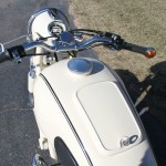 BMW R50 - 1959 - Gas Tank, Handlebars, Gas Cap and Flashers.