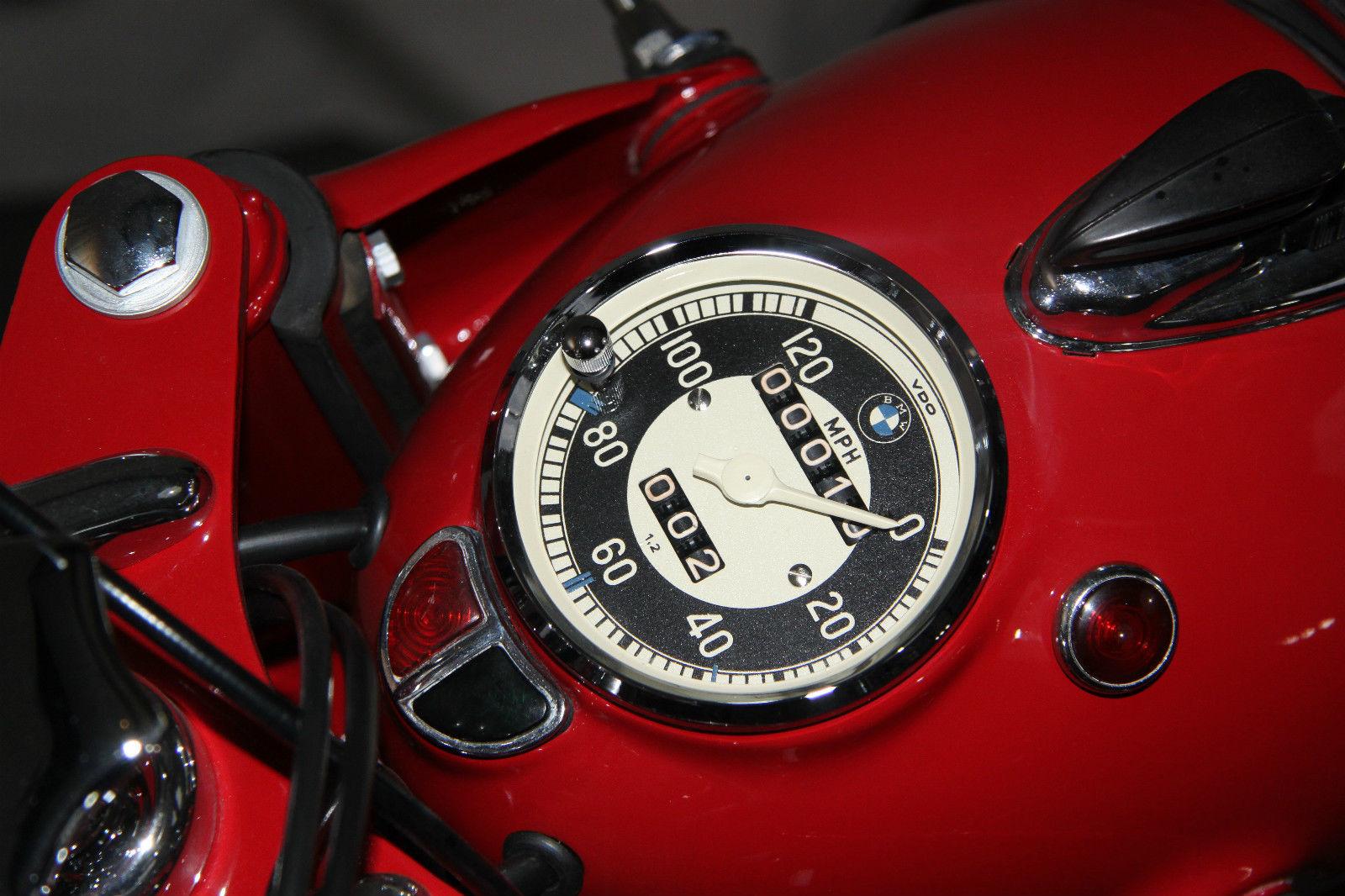 bmw r60 2 1963 restored classic motorcycles at bikes restored bmw r60 2 1963 headlight bucket speedo speedometer mileage