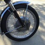 BSA A10 Super Rocket - 1963 - Front Forks, Front Fender, Front Wheel and Twin Leading Shoe Front Brake.