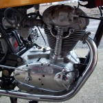 Ducati Desmo 250 - 1974 - Motor and Transmission.