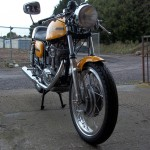 Ducati Desmo 250 - 1974 - Fender, Wheel, Headlight and Forks.