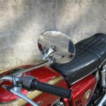 Honda CB750K0 -1969 - Grip, Handlebar and Mirror.
