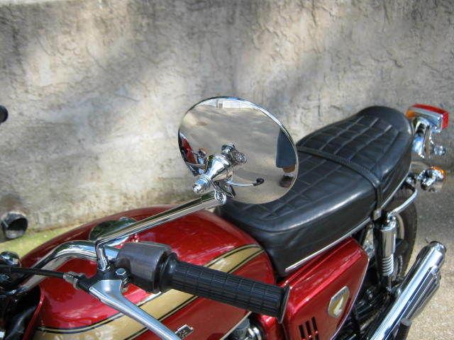 Honda CB750K0 -1969 - Grip, Handlebar and Mirror.