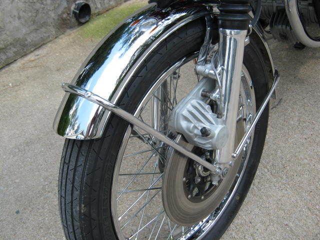Honda CB750K0 -1969 - Front Wheel, Double Cut Front Fender, Disc Brake and Calliper.