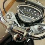 Honda S90 -1966 - Handlebars, Speedo and Top Yoke.