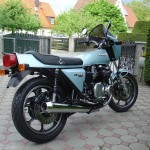 Kawasaki Z1R - 1978 - Rear Wheel, Tail Light, Indicators and Muffler.