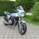 Kawasaki Z1R - 1978 - Motor ans Transmission, Gas Tank, Seat and Tail Piece.
