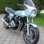 Kawasaki Z1R - 1978 - Engine and Gearbox, Exhaust System, Front Fender and Headlight.