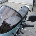 Kawasaki Z1R - 1978 - Screen, Fairing and Mirror.