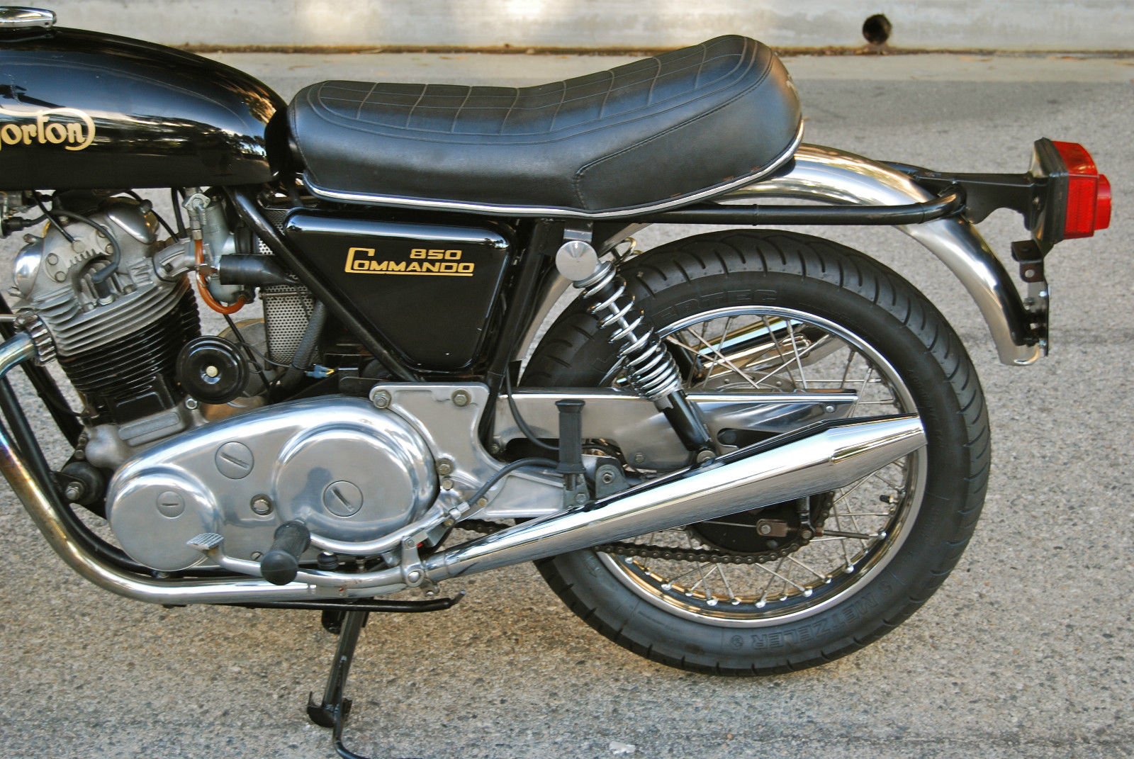 Restored Norton Commando 1974 Photographs At Classic Bikes Restored Bikes Restored