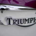 Triumph Bonneville - 1967 - Original 1967 Triumph Tank Badge.