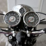 Triumph Bonneville - 1967 - Clocks, Speedo, Tacho, Mileage, Steering Damper and Handlebars.