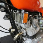 Triumph X-75 Hurricane - 1973 - Oil Cooler, Frame, Engine and Head.