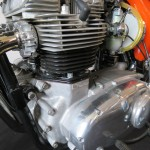 Triumph X-75 Hurricane - 1973 - Engine and Gearbox, Barrels, Cylinder Head and Crankcase.