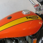 Triumph X-75 Hurricane - 1973 - Gas Tank and Triumph Logo.