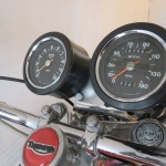 Triumph X-75 Hurricane - 1973 - Clocks, Speedo, Tacho and Handlebars.