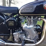 Velocette Venom - 1961 - Motor and Transmission, Exhaust, Carburettor, 500cc Cylinder.