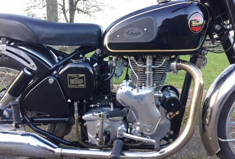 Velocette Venom - 1961 - Motor and Transmission, Exhaust, Carburettor, 500cc Cylinder.