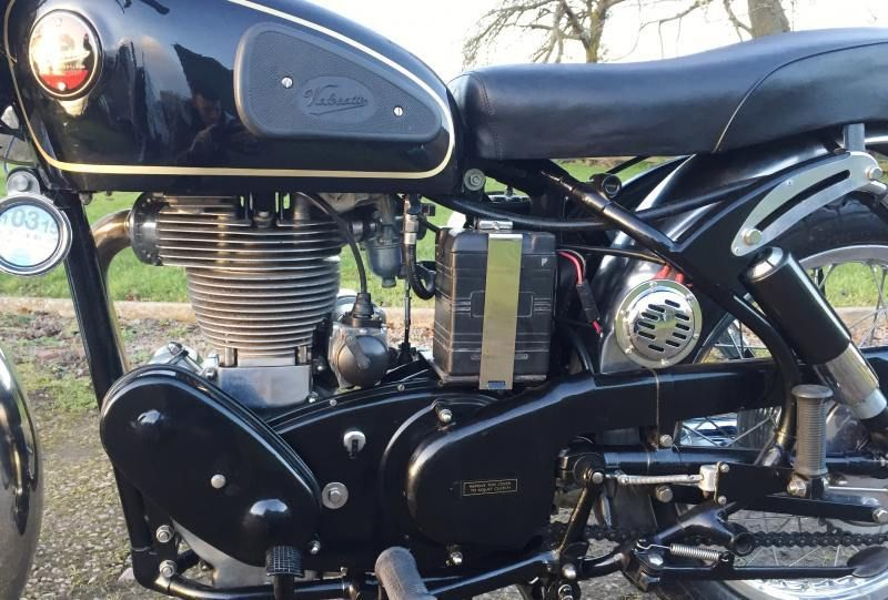 Velocette Venom - 1961 - Horn, Engine and Gearbox.