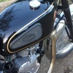 Velocette Venom - 1961 - Fuel Tank, Venom Badge and Knee Pads.