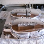 Yamaha 360 RT3 - 1973 - Polished Engine Cases.