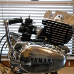 Yamaha 360 RT3 - 1973 - Engine and Gearbox Restored.