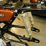 Yamaha 360 RT3 - 1973 - Restoration, Rear Shocks and Swing Arm.