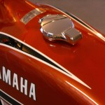 Yamaha 360 RT3 - 1973 - Petrol Tank, Gas Tank, Gas Cap and Yamaha Decals.