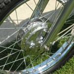 Yamaha 360 RT3 - 1973 - Front Wheel Rim, Spokes and Hub.