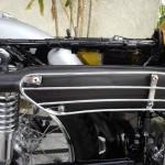 Yamaha CT1 175 Enduro - 1971 - Muffler, Heat Shield and Frame