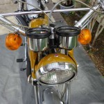 Yamaha CT1 175 Enduro - 1971 - Clocks, Headlight, Flashers and Handlebars.