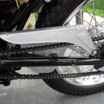 Yamaha CT1 175 Enduro - 1971 - Swing Arm, Chain Guard and Chain.