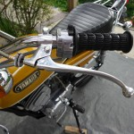 Yamaha CT1 175 Enduro - 1971 - Clutch Lever, Grip and Light Switch.