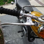 Yamaha CT1 175 Enduro - 1971 - Throttle, Brake Lever, Grip and Handlebars.