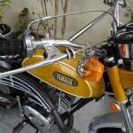 Yamaha CT1 175 Enduro - 1971 - Brake Cable Adjuster, Throttle, Handlebars, Engine and Exhaust.