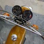 Yamaha CT1 175 Enduro - 1971 - Clocks, Speedo and Tacho, Headlight, Gas Tank and Indicators.