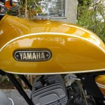 Yamaha CT1 175 Enduro - 1971 - Petrol Tank and Yamaha Badges.