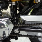 Yamaha CT1 175 Enduro - 1971 - Swing Arm, Chain Case and Engine Cover.
