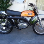Yamaha DT1 - 1971 - Side View, Restoration, Restored, Rebuilt.