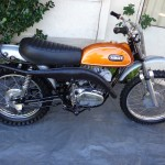 Yamaha DT1 - 1971 - Engine and Gearbox, Tank, Seat, Frame, Exhaust, Wheels and Brakes.