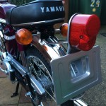 Yamaha FS1E - 1975 - Popsicle Purple, Fizzy, Rear light, Number Plate, Seat and Indicator.