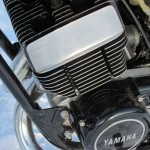 Yamaha RD250 - 1974 - Engine and Gearbox, Frame Mount, Cylinder Head and Barrels.